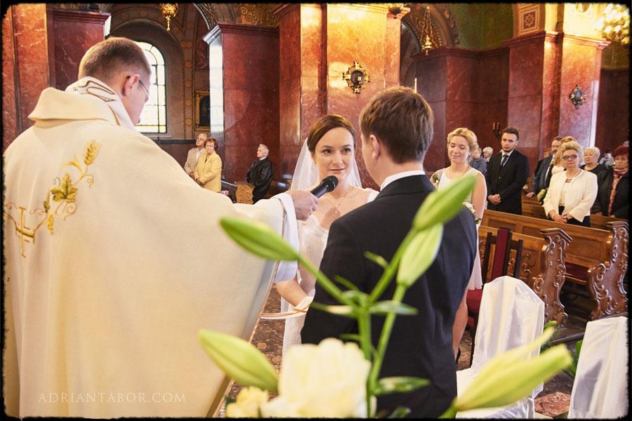 Ślub w Bazylice w Piekarach Śląskich