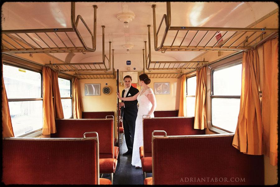 Zdjęcia Ślubne W Pociągu