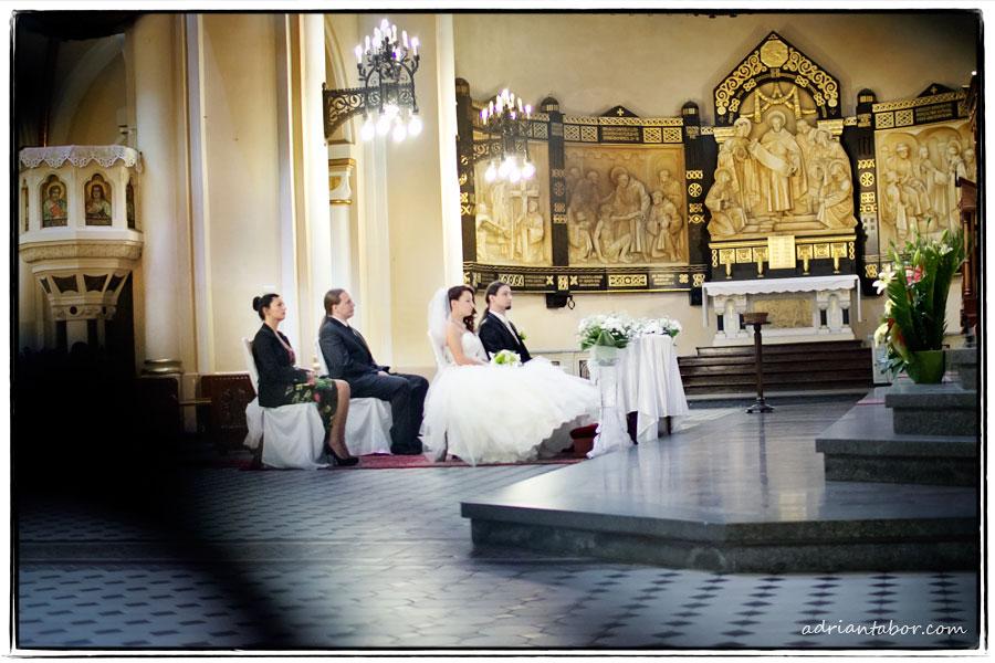 fotografia ślubna bazylika w katowicach