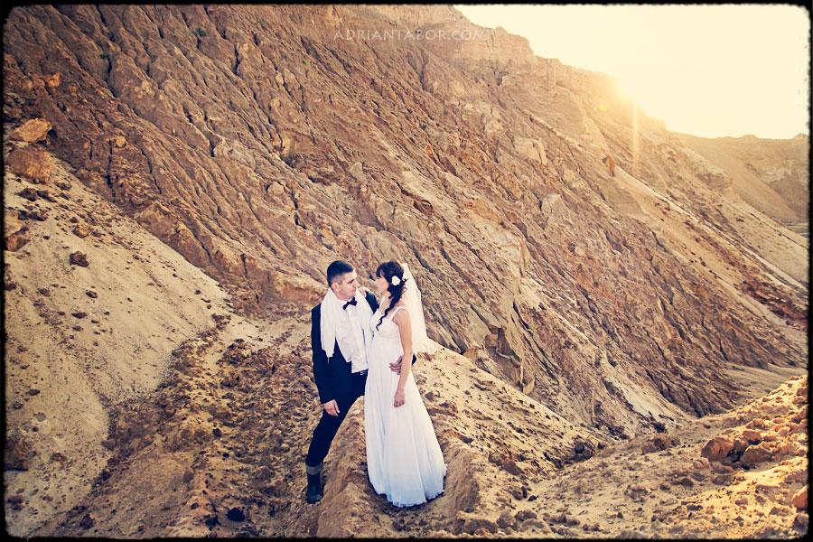 Plener ślubny w piaskowni