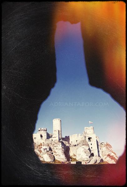 sesja zamek ogrodzieniec