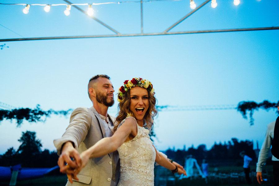 ślub w plenerze willa słoneczna dębowiec