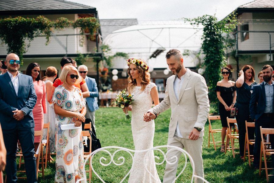 fotografia ślubna plenerowy ślub